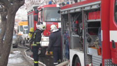 """Два отделни пожара е имало в блокa в """"Студентски град"""""""