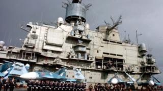 Руски военни кораби акостираха в сирийско пристанище