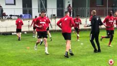 ЦСКА продължава с усилените тренирвки в Австрия