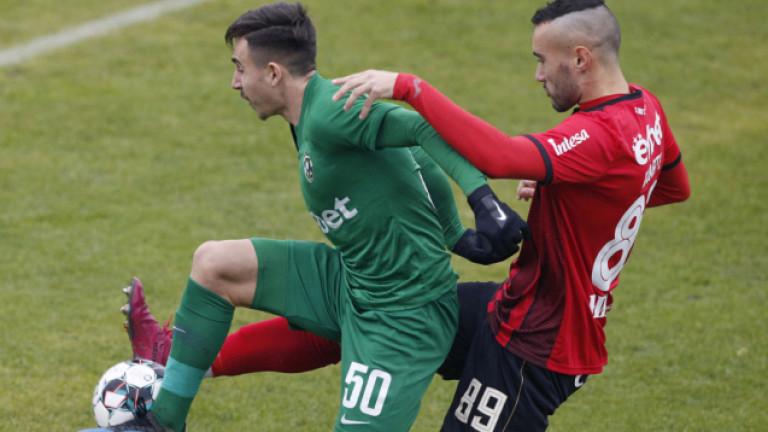 Дубълът на Лудогорец се изкачи до третата позиция във Втора лига