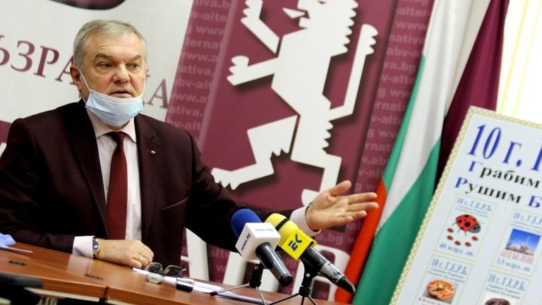 Борисов е с ампутирано чувство за срам според Румен Петков