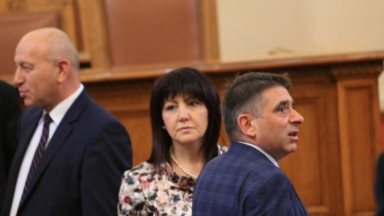 Депутатите обсъждат държавния бюджет за 2019 г.