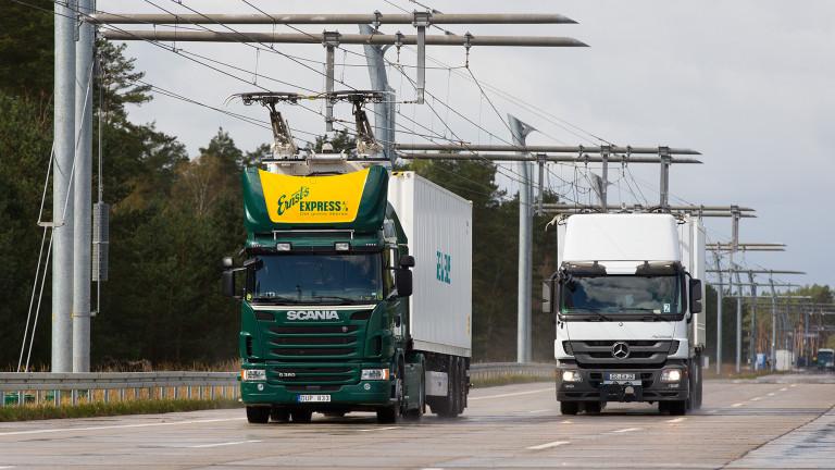 Технологичния гигант Siemens ще изгради магистрала за хибридни камиони в