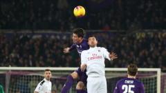 10 от Фиорентина се пребориха за точка срещу Милан