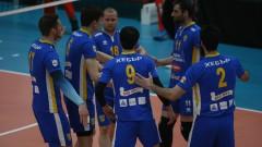 Волейболният Хебър победи Левски с 3-0 в контрола в София