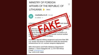 Литва опроверга фалшива информация, че САЩ прехвърлят ядрените си оръжия от Турция в Прибалтика