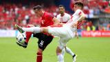 Швейцарският Джака е №1 във втория мач от Евро 2016
