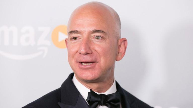 Най-богатият човек в света - Джеф Безос забогатява още повече