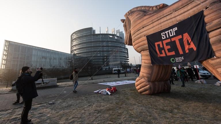 """Да се отложи ратификацията на СЕТА, искат от """"За Земята"""""""