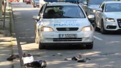 Моторист блъсна полицай в Русенско