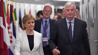 Независима Шотландия няма да приеме еврото, категорична Стърджън
