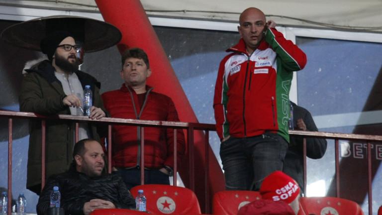 Стойчо Стоилов: Ако ЦСКА не стане шампион, причините няма да са спортно-технически