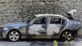 Ултраси на Левски се канят на феновете на Хайдук заради запалена кола