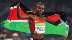 Кенийка спечели на 1500 м със силен финален спринт
