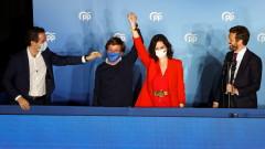Десницата печели вота за Мадрид
