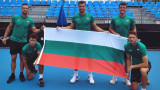 България показа екипите за ATP Cup, Гришо стана художник
