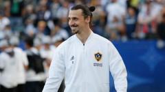 Златан Ибрахимович се наслаждава на престоя си в Лос Анджелис