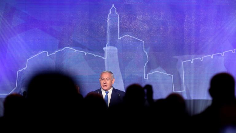 Снимка: Нетаняху обеща да кръсти град на името на Тръмп на Голанските възвишения