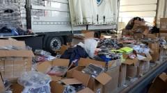 """Задържаха бизо 45 000 контрабандни дрехи на МП """"Капитан Андреево"""""""