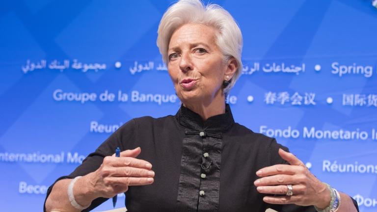 Кристин Лагард: Все още не се задава глобална рецесия на хоризонта, но рисковете растат