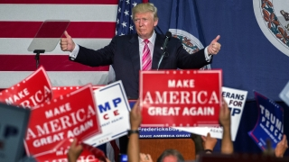 Здравето е проблем в изборната кампания, коментира Тръмп пневмонията на Клинтън