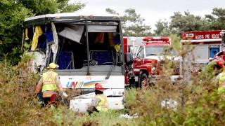 Автобус пълен с китайски туристи катастрофира в Юта