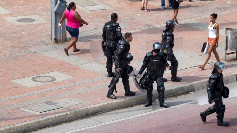 Полицията в Колумбия е убила 86 души миналата година, пише