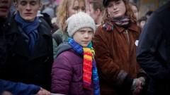 Хиляди на митинг за климата в Брюксел, заедно с Грета Тунберг
