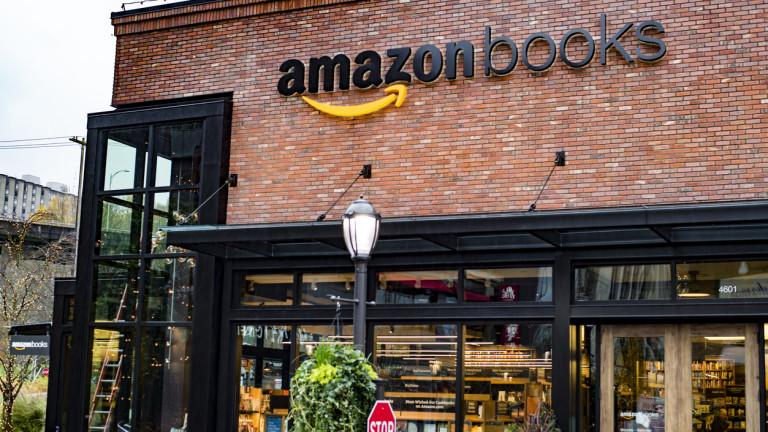 Снимка: Защо Amazon заменя изскачащите магазини с продажба на книги