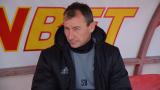 Стамен Белчев каза тежката си дума преди дербито