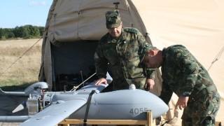 Армията ни демонстрира специален дрон