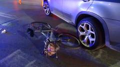Катастрофа в Благоевград прати колоездач в болницата