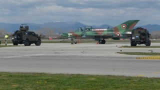 Приключи съвместната охрана на небето ни с италианските ВВС