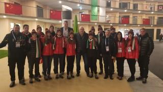 Младите български олимпийци в Лозана с подкрепа от министър Кралев и Любо Ганев