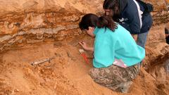 Археолози откриха гроб на тракийска принцеса-войн