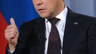 Руска ТВ водеща: Бойкот на новогодишната реч на Медведев