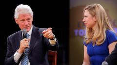 Какво е новото начинание на Бил и Челси Клинтън