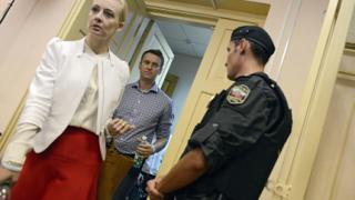 Осъдиха на 5 год. затвор водач на протести срещу Путин