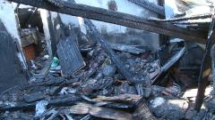 Пожар унищожи къща в центъра на Русе