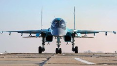 Руските ВКС получиха нова серия бомбардировачи Су-34