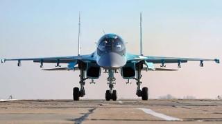 Руските военни пуснаха  видео от кацането на Су-34 и Ан-26 на строяща се магистрала