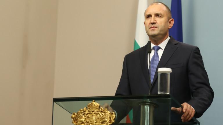 Президентът Румен Радев върна на Висшия съдебен съвет решението за