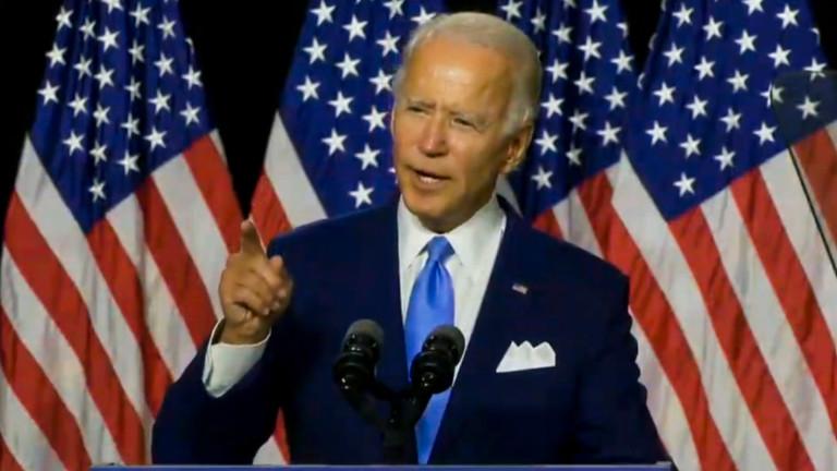 Бъдещият кандидат на Демократическата партия за президент на САЩ Джо
