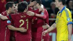 Испания се класира на Евро 2016