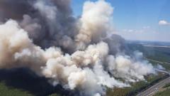 Десетки пострадаха при голям пожар в Германия