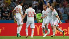 Звездите на Испания тренират дузпи преди мача с Русия