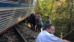 29 ранени при инцидент с влак в САЩ