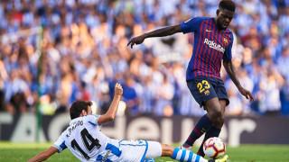 Три английски клуба искат защитник на Барселона