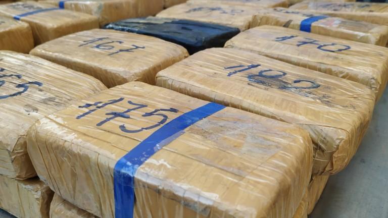 """Задържаха хероин за над 3,6 млн. лева на """"Дунав мост"""""""