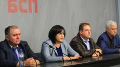Нинова убеждава Лекарския съюз, че БСП са алтернатива